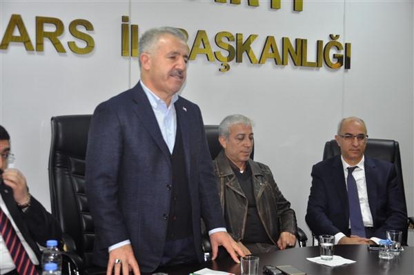 """Arslan: """"AK Parti ve MHP Kars'ta kendi adayları ile seçime girecek"""""""