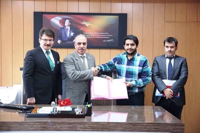 Akyaka Ovasının Sulama sözleşmesi imzalandı