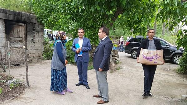 Kaymakam Öter'in Ramazan ziyaretleri devam ediyor