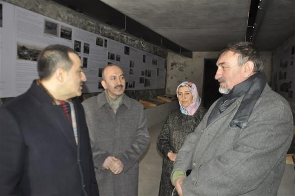 Vali Öksüz Türkiye'nin ilk ve tek peynir müzesini gezdi