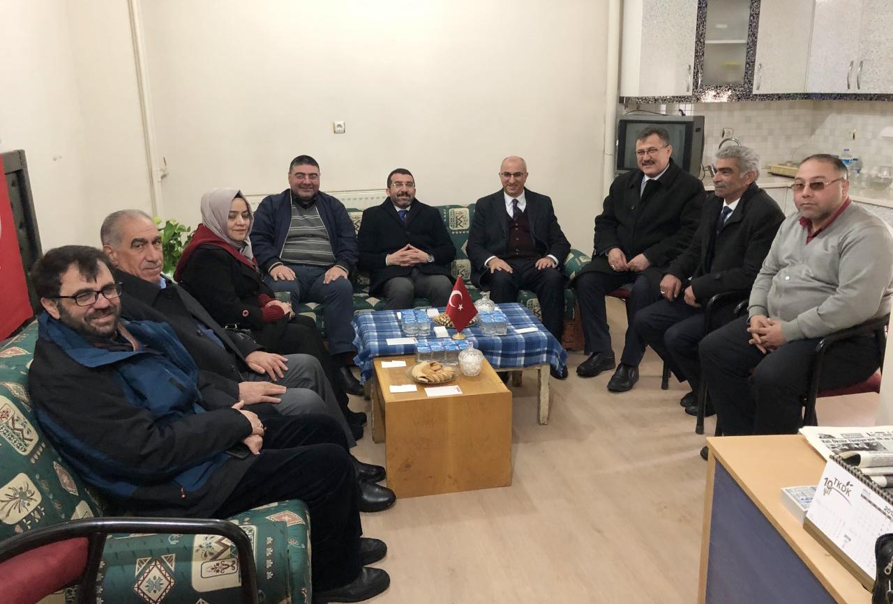Ensar Erdoğdu, Gazeteciler Cemiyetini ziyaret etti