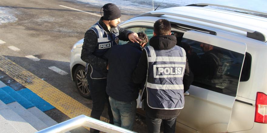 Kars'ta kablo ve oto yedek parça hırsızlığı!