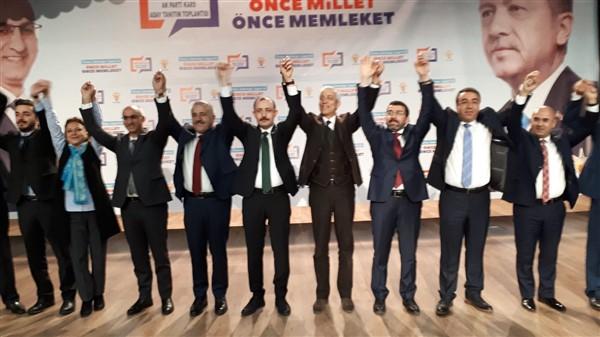 AK Parti il ve ilçe belediye başkan adayları sahnede