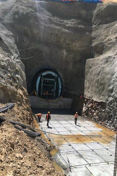 Karakurt Barajı ve HES inşaatı hızla devam ediyor