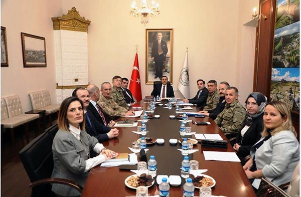 Kars'ta Seçim Güvenliği ve Koordinasyon toplantısı yapıldı