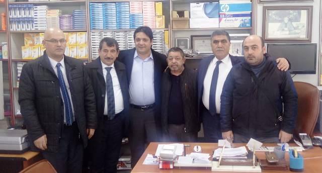 Toraman Kars Gazeteciler Birliğini ziyaret etti