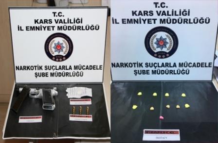Uyuşturucu taciri 3 şahıs tutuklandı