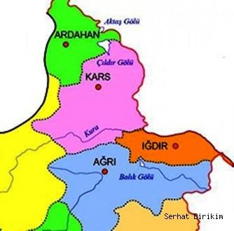 Ağrı, Kars, Iğdır ve Ardahan'da TÜFE) yüzde 0,88 arttı