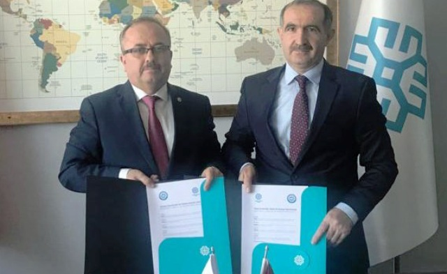 Türkiye Maarif vakfı ile İşbirliği ve tanıtım protokolü imzalandı
