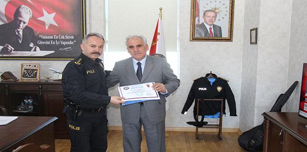 Kars'ta emekli Emniyet mensuplarına teşekkür