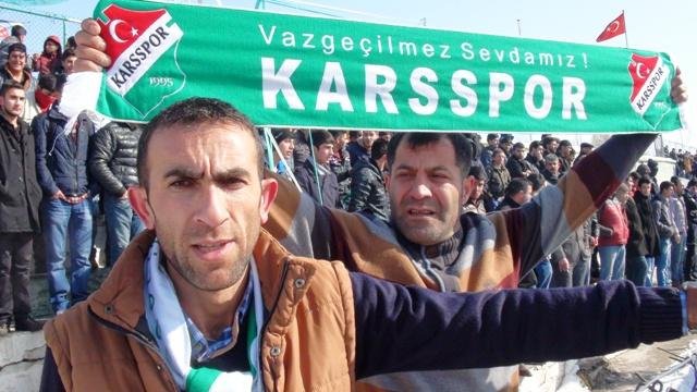 Taraftarlar Karsspor'a destek kampanyası başlattı