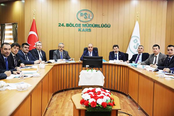 Katranlı Barajı ve Sulaması Değerlendirme toplantısı yapıldı