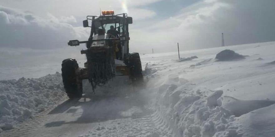 Kars'ta 38 köy yolu ulaşıma kapalı