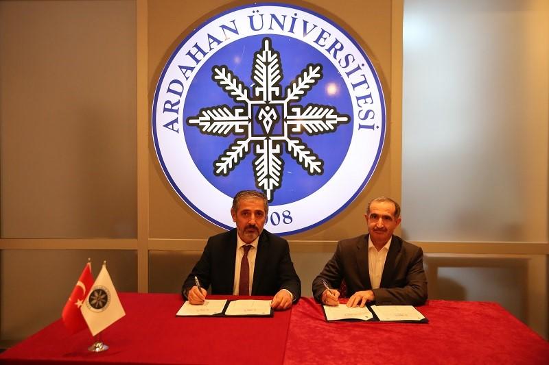 """KAÜ ve ARÜ arasında """"Farabi Değişim Programı"""" protokolü imzalandı"""