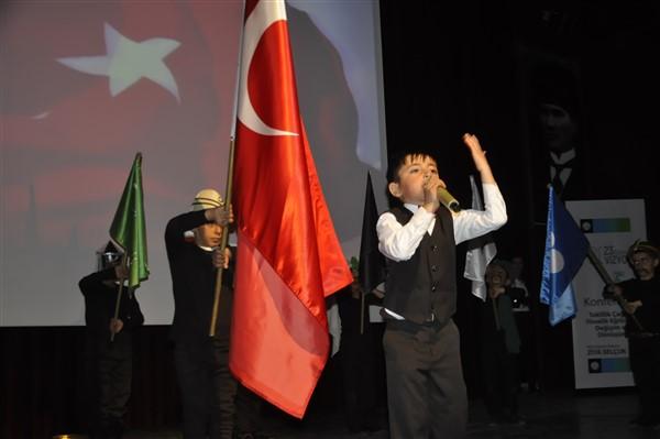İstiklal Marşımızın yazarı Mehmet Akif Ersoy Kars'ta anıldı