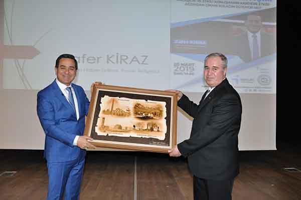 TRT spikeri Zafer Kiraz, KAÜ'de konferans verdi