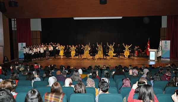 """KAÜ'de """"Yeniden Dirilişin Sembolü Nevruz"""" konferansı"""