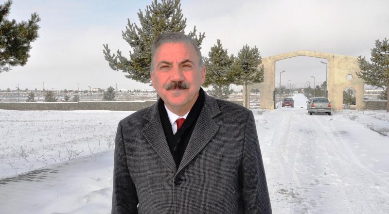 """Alibeyoğlu: """"Asri Mezarlığa tam teşekküllü cami yaptıracağız"""""""