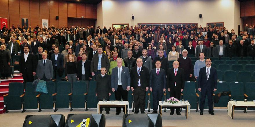 """KAÜ'de """"Terör ve Terörizm"""" konferansı"""