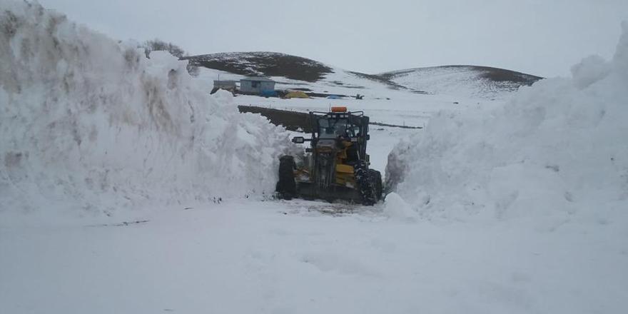 Kars'ta seçim günü kapalı köy yolu kalmayacak