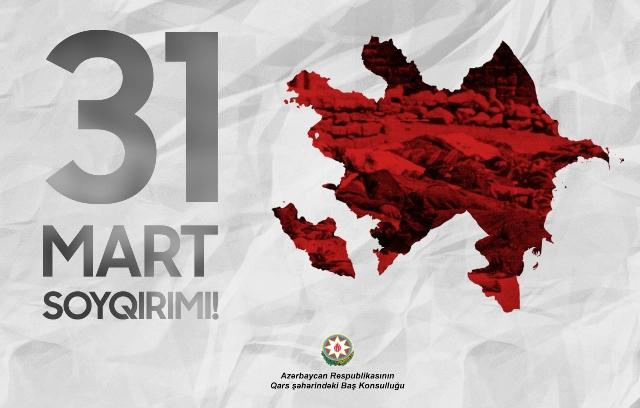 """Guluyev: """"31 Mart Soykırımının Üzerinden 101 Yıl Geçti"""""""