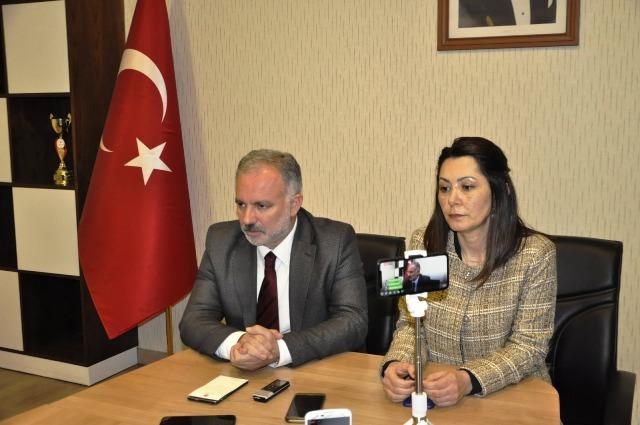 """Bilgen ve Alaca: """"Kars'ın belediye başkanlarıyız"""""""