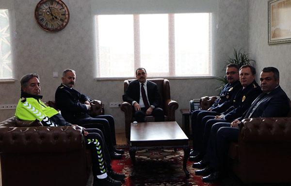 Vali Öksüz, Türk Polis Teşkilatının 174. kuruluş yıldönümünü kutladı