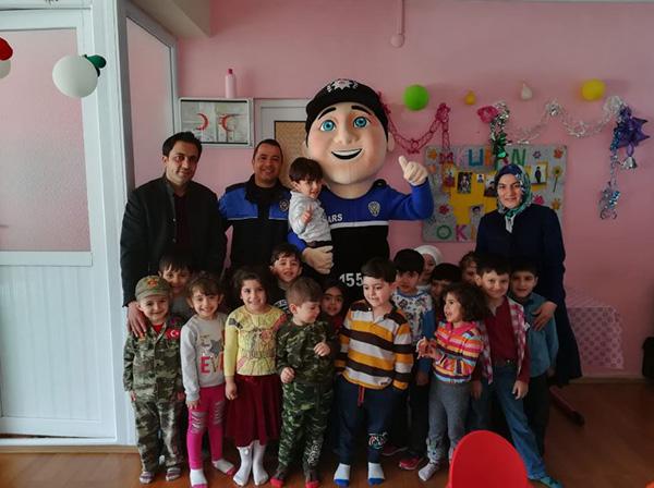 Kars'ta Kur'an Kursu öğrencileri bilgilendirildi