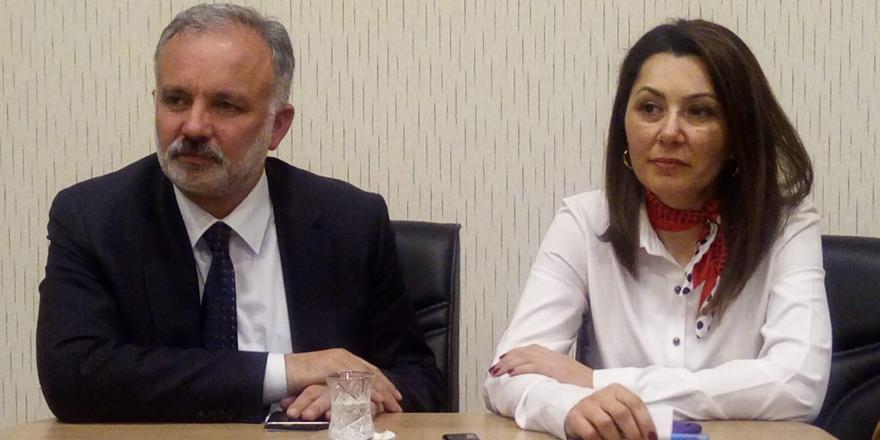 Ayhan Bilgen belediye çalışanlarına seslendi