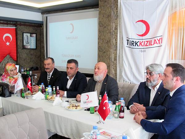Kızılay Kars Şubesi kan bağış kampanyası başlattı