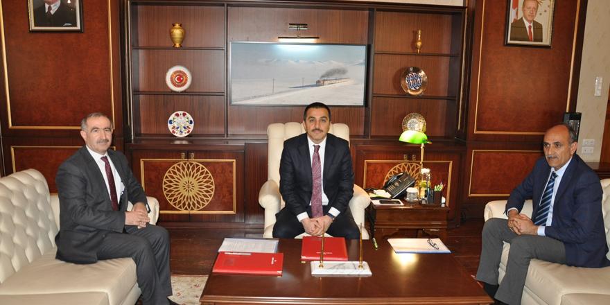 """Kars'ta """"Eğitimde İşbirliği Protokolü"""" imzalandı"""