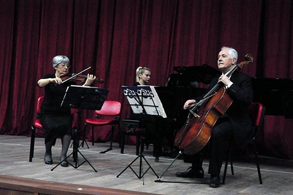 """KAÜ'de """"Oda Müziği"""" konseri gerçekleşti"""