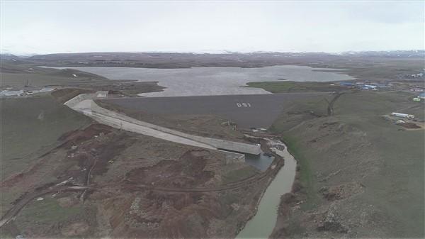 Kars Barajı yüzde 67 doluluğa ulaştı
