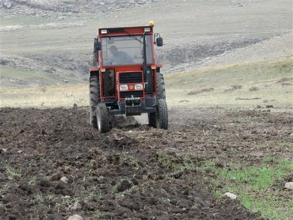 Çiftçi tohum derdinde