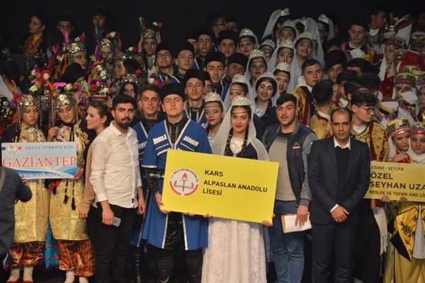Kars Alpaslan Anadolu Lisesi Türkiye 7'incisi oldu