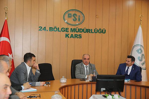 DSİ Kars Bölge, Ardahan'a 38 adet taşkın koruma yapacak