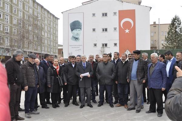 Kılıçdaroğlu'na yapılansaldırı Kars'ta daprotesto edildi