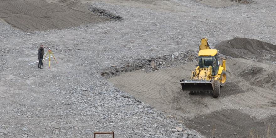 Kars Sultan Alpaslan Külliyesi'nin yapımı devam ediyor