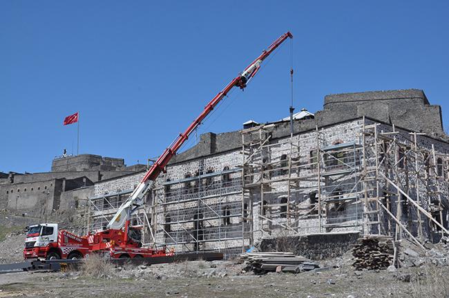 Beylerbeyi Sarayı'nda restorasyon çalışmaları yeniden başladı!