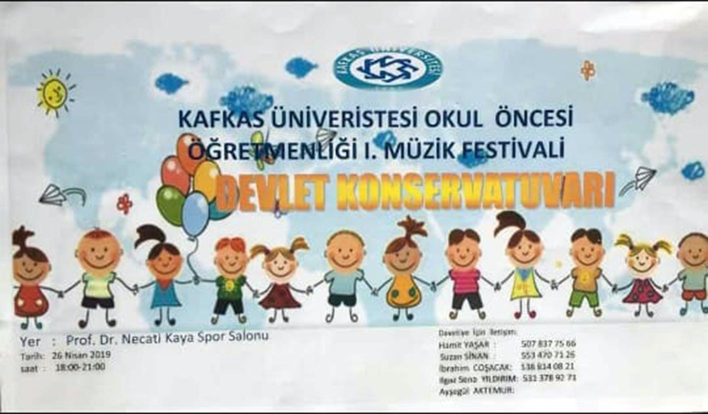 KAÜ'de 1. Müzik Festivali gerçekleşecek