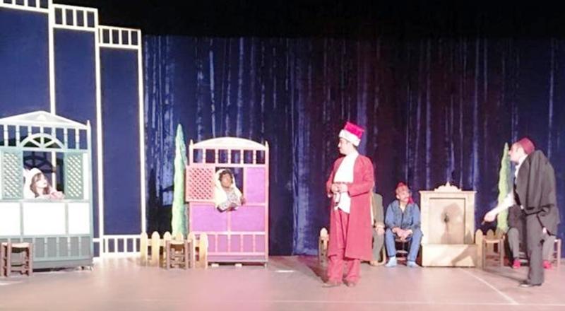 Evlendirme tiyatro oyunu sahnelendi