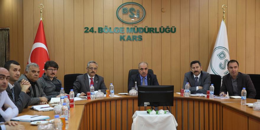 Susuz Barajı ve Sulaması projesi değerlendirildi