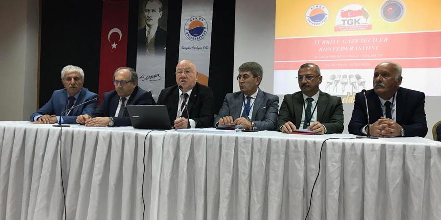 Basın meslek sorunları ve çözüm önerileri tartışıldı