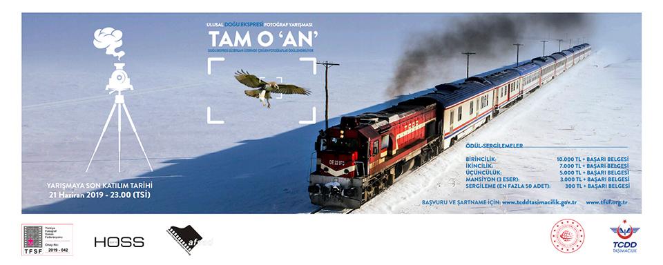 """2. Ulusal Doğu Ekspresi """"Tam O 'An'"""" Fotoğraf Yarışması başladı"""
