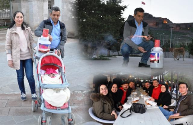 Türkiye'de Ramazan'ın ilk iftar topu Kars'ta atıldı