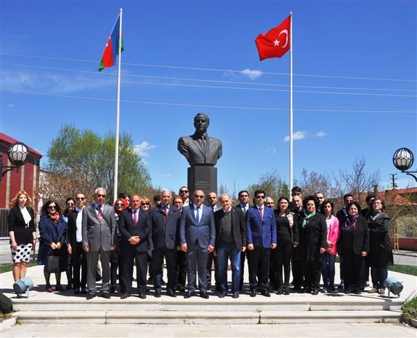 Haydar Aliyev, 96. doğum gününde Kars'ta da anıldı