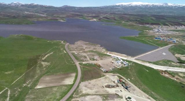 Kars Barajında sular yükseliyor!