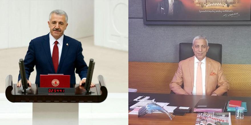 Kars Milletvekilleri Ahmet Arslan ve Yunus Kılıç'ın 19 Mayıs mesajı