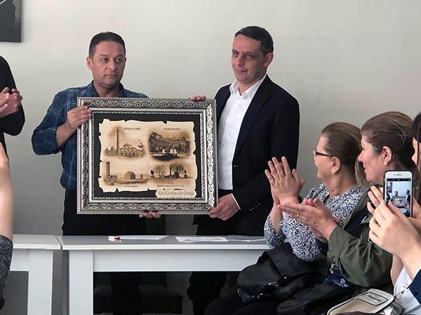 Kars Karadenizliler Derneği Başkanlığına Murat Deniz seçildi