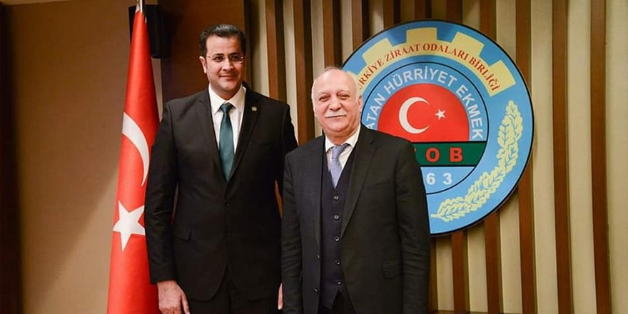 Adem Ertaş, TZOB Yönetim Kurula seçildi